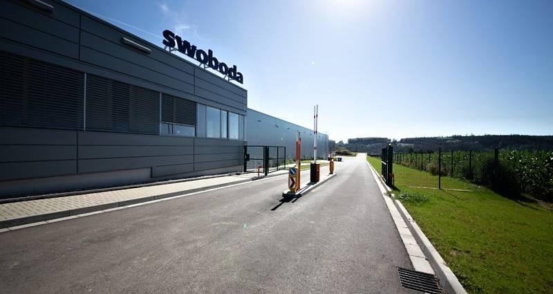 Nový výrobní závod Swoboda CZ v Polné