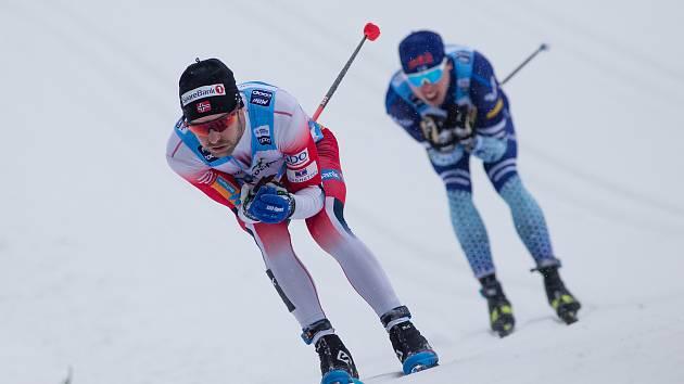 Ohlédnutí za loňským ročníkem. Stíhací závod mužů na 15 km klasicky v rámci Světového poháru v běhu na lyžích.