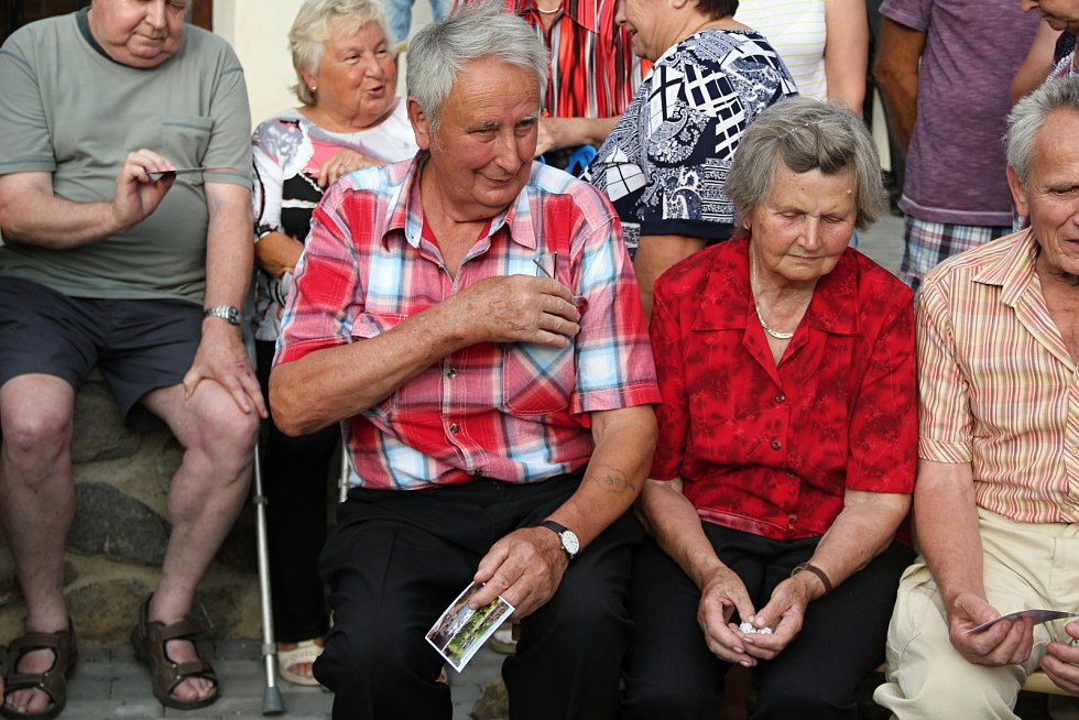 Rodinné setkání v Habří.