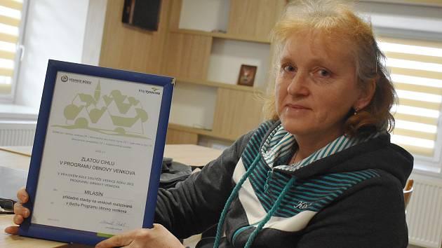 V roce 2013 vyhrál Milasín Zlatou cihlu v soutěži Vesnice Vysočiny.