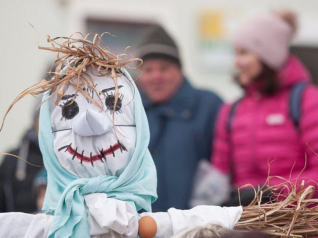 Vynášení Morany, loučení se zimou a vítání jara ve Velké Bíteši.