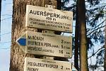 Z Bystřice přes Aueršperk na Zubštejn.