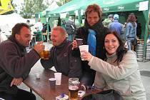 Ze Slavností piva v Bystřici nbad Pernštejnem..