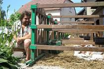 Malou mlékárnu na zpracování vlastního kravského mléka si postavila rodina Němcových na zemědělské farmě v Netíně.