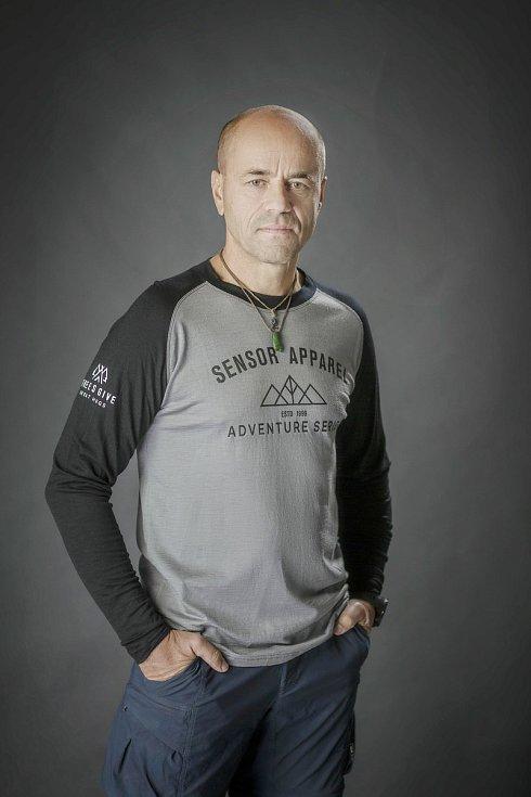 Horolezec Radek Jaroš má spoustu aktivit.