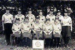 V roce 1929, padesát let po založení sboru, bylo v Rožné činných devět hasiček.