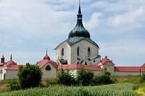 Kostel sv. Jana Nepomuckého na Zelené hoře je památkou zapsanou na seznamu UNESCO.