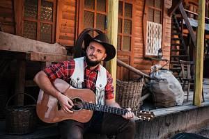 Natáčení videoklipu k písni Cowboy.