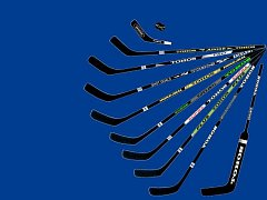 Sada hokejek Tohos.
