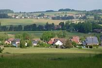 Krajina v okolí Kameniček.