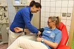 Darování krve, ilustrační foto.