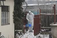 Zásah veterinářů ve Štěpánově nad Svratkou, kde se objevila ptačí chřipka.