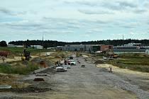 Kvůli napojení průmyslové zóny Jamská II bude od úterý 1. září uzavřena Novoměstská ulice ve Žďáře nad Sázavou.