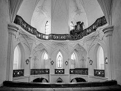 Výstava fotografií žďárského fotografa Milana Šustra nazvaná Chrám bude k vidění v Čechově domě od 7. července.