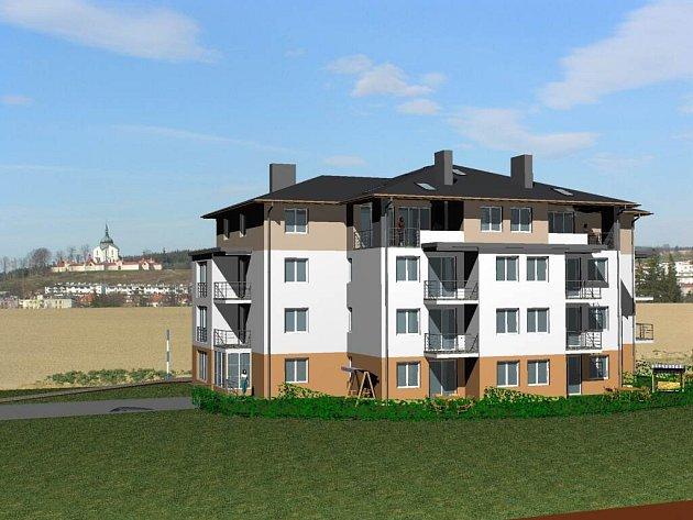 Nové vila domy vzniknou v lokalitě Klafar II. Ještě se nezačalo se stavbou, a už jsou všechny zamluvené.