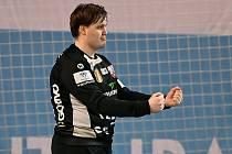 Jasnou jedničkou mezi třemi tyčemi extraligových házenkářů Nového Veselí je odchovanec klubu Michal Studený.