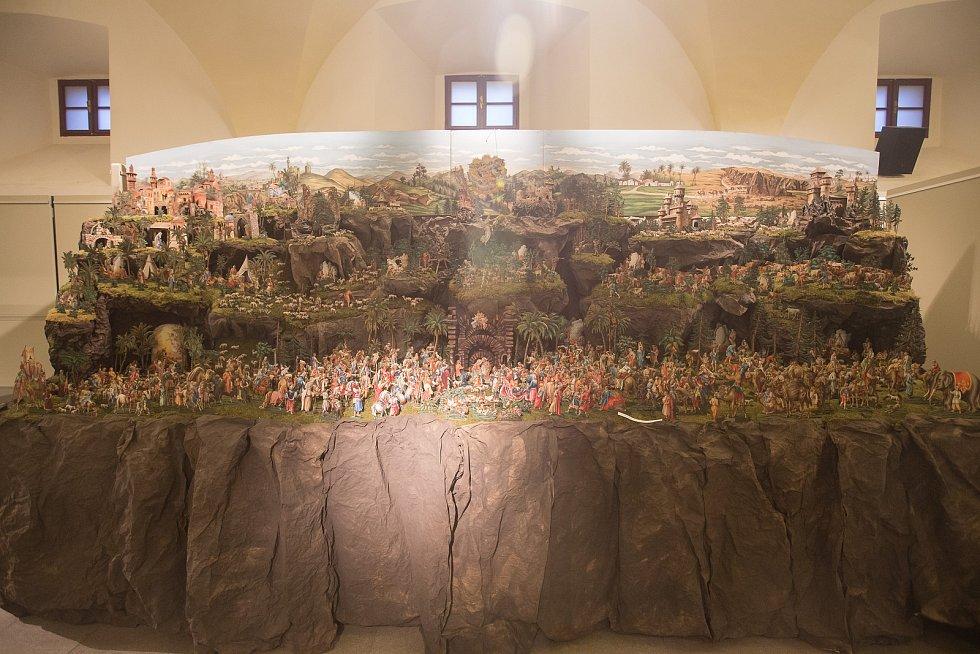 Vánoční výstava betlémů 2020 v Muzeu Vysočiny v Třebíči.