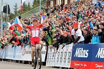 Po loňském Světovém poháru, kdy si cyklisté vyzkoušeli tratě v lesích v okolí Nového Města na Moravě, bude letos v létě Vysočina Arena hostit světový šampionát horských kol. Na něm mají velkou šanci získat medaile i čeští závodníci.