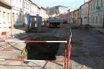 Ulice Novosady už ztratila svou původní podobu.