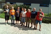 Účastníci klání žďárských šachových hospod.