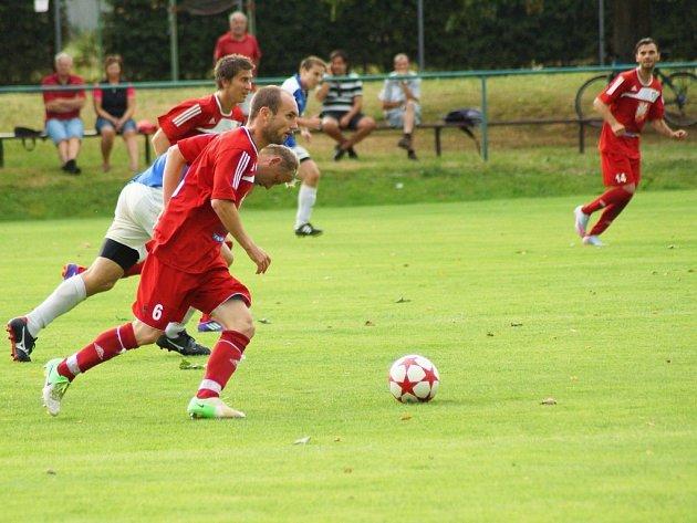 Velkomeziříčská exligová posila Petr Dolejš se může těšit nejen na pohárový střet se Zbrojovkou Brno, ale už 5. srpna přivítá jeho tým FC Vysočinu Jihlava.