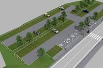 Úprava parkoviště u zámku Kinských ve Žďáře nad Sázavou umožní návštěvníkům Zelené hory bezpečně překonat silnici díky novém přechodu pro chodce, který na silnici I/37 vznikne.