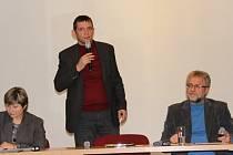 V čele Bíteše jsou opět starosta Milan Vlček (vpravo) a místostarosta Tomáš Kučera (vlevo).