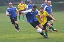 Hráči Vrchoviny (ve žlutém) porazili Křižanov 4:2.