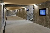 Práce na křižanovském nádraží začaly v listopadu roku 2019. Konec je naplánovaný na srpen.