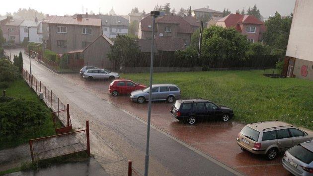 Bouřky a deště v pátek 10.7.
