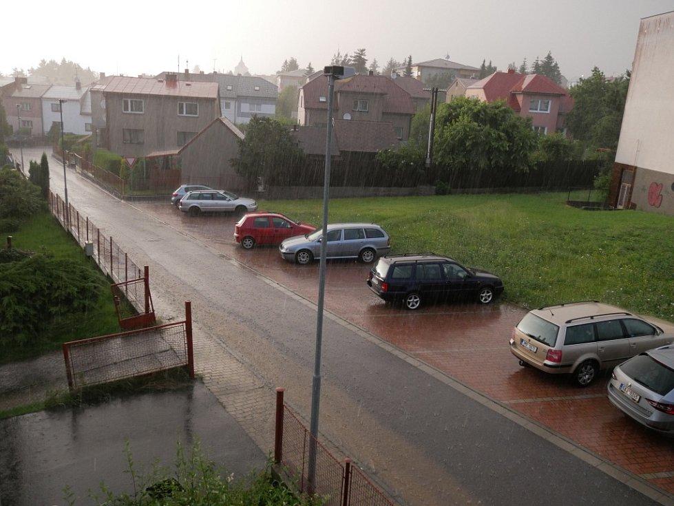 Bouřky zasáhly Vysočinu.