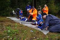 Zahájení podzimní části hry Plamen v Bobrové na Novoměstsku poznamenalo nepříznivé počasí. Malé a mladé hasiče ve věku od 6 do 18 let však déšť neodradil a utkali se například ve střelbě ze vzduchovky.