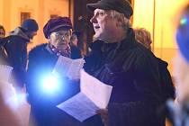 Při adventním koncertě ve Sněžném vystoupí sbor Svatopluk s dirigentem Janem Lánem.