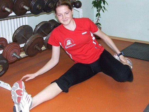 Andrea Jirků je nerozlučnou tréninkovou partnerkou starší a slavnější Martiny Sáblíkové.