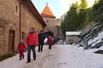 Sváteční náladu navodila o uplynulém víkendu na hradě Pernštejn akce Vánoce na sýpce.