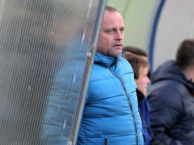 Vladimír Hekerle (na snímku) už není trenérem Žďáru.