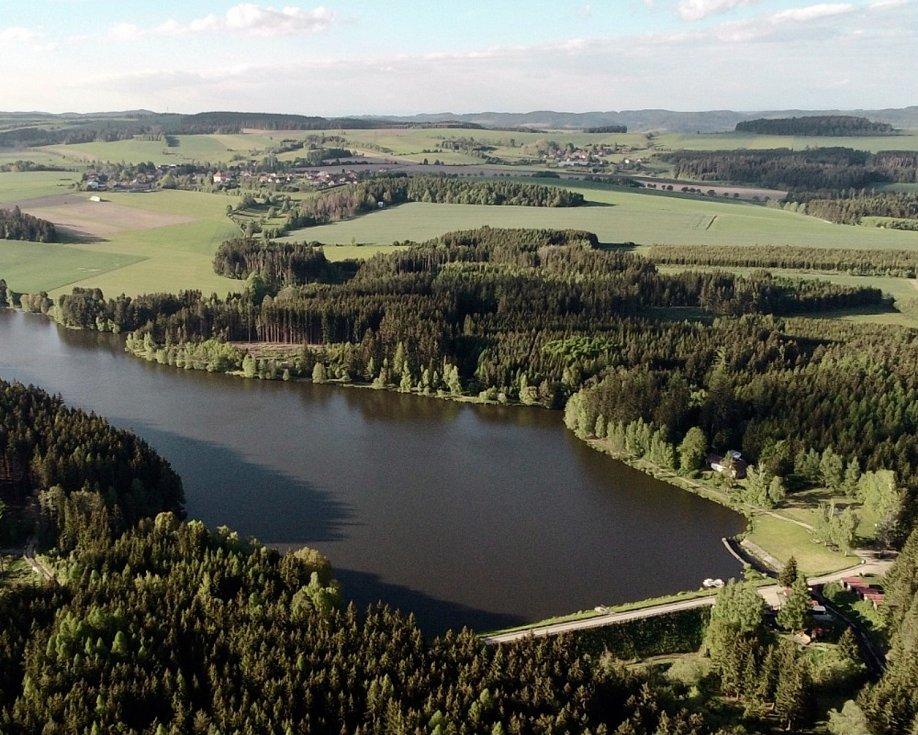 Domanský rybník - Rozsochy a jeho okolí