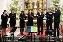 Tříkrálový koncert v novoměstském kostele svaté Kunhuty.