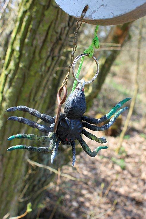 Pavúk strážce závlačky