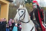Svatomartinská pouť má ve vesnici dlouholetou tradici. I letos přilákala velké množství návštěvníků.