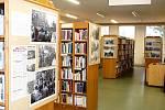 Výstava v knihovně.