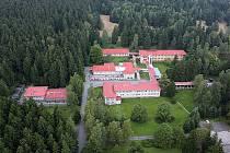 Bývalé sanatorium na Buchtově kopci u Daňkovic na Novoměstsku.