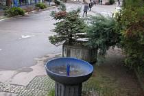 Mezi podpořené projekty se dostala také obnova vodního prvku v atriu za žďárským náměstím.