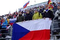 Atmosféra bude podobná jako při loňském Světovém poháru v biatlonu - jenom těch fanoušků bude všude více.