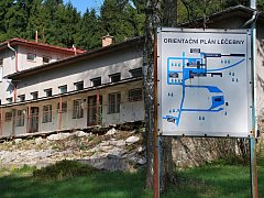 Provoz léčebny na Buchtově kopci skončil k poslednímu prosinci 2011, od té doby je prázdná.