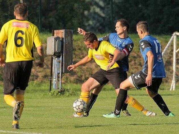 Fotbalisté Chotěboře mají formu. Naposledy to potvrdili proti Sapeli Polná.