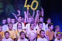 Akademií žáků v Domě kultury ve Žďáře nad Sázavou vyvrcholila oslava čtyř desítek let od založení žďárské základní školy Švermova.