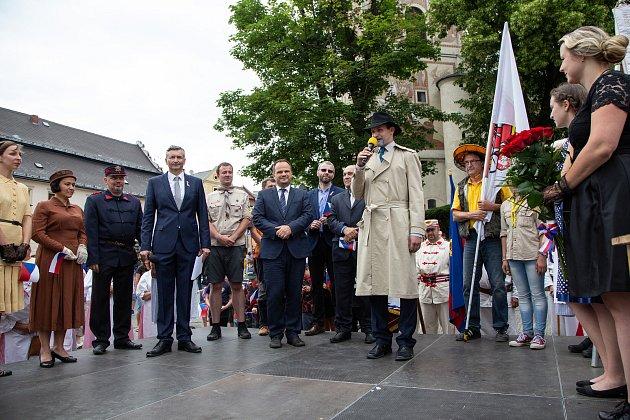 Do Nového Města přijel prezident Masaryk. Po devadesáti letech