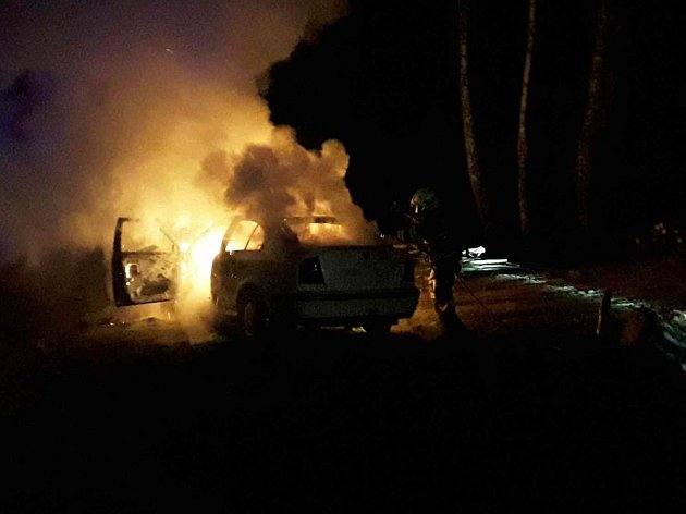 Řidička Škody Octavia skončila po nehodě v nemocnici.