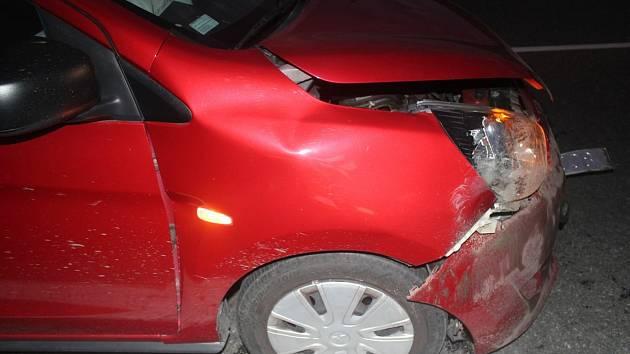 Nehoda se zvěří, ilustrační foto.